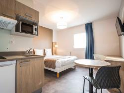 The apartment hotel Residence Saint Nazaire
