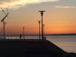 Saint-Nazaire sea